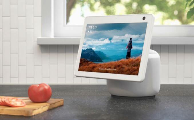 The latest Echo Show 10